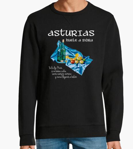 Asturian cider dark background - sweat fruit hoody