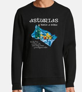 asturian cider dark background - sweat fruit