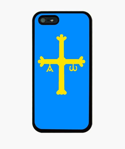 Funda iPhone Asturias bandera