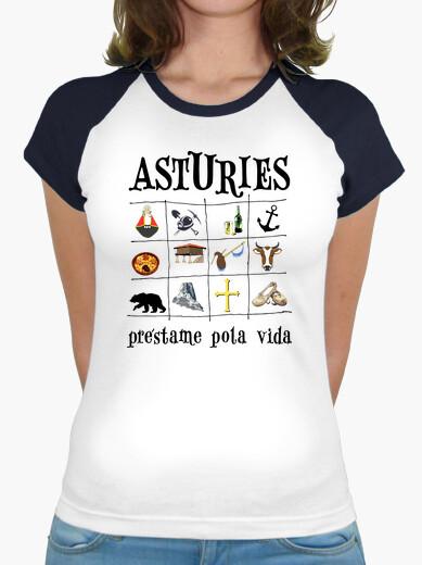 Asturies 2017 - Camiseta de chica tipo...
