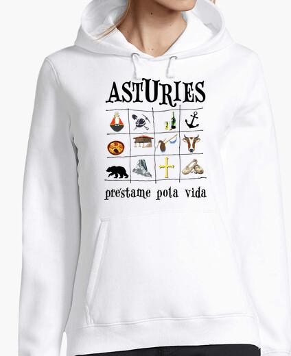 Asturies 2017 - Jersey con capucha para chica