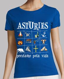 asturies 2017 dark background - girl with thin straps