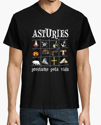 Asturies 2017 fondo oscuro - Camiseta...