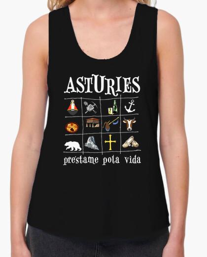 Asturies 2017 fondo oscuro - Camiseta de...