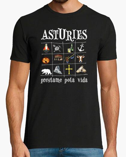 Asturies 2017 fondo oscuro - Camiseta Ringer