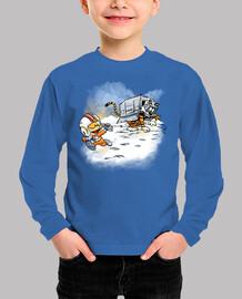 ataque de los caminantes de la nieve as
