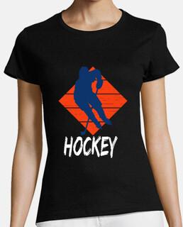 Atardecer Hockey Jugador