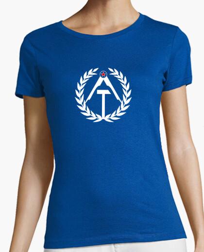 Camiseta Ateismo (white) - Chica
