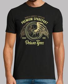 atelier de mécanique rétro de t-shirt