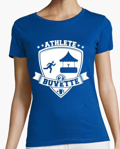 Tee-shirt athlète de buvette