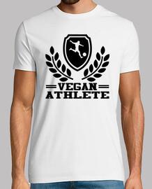 athlète végétalien