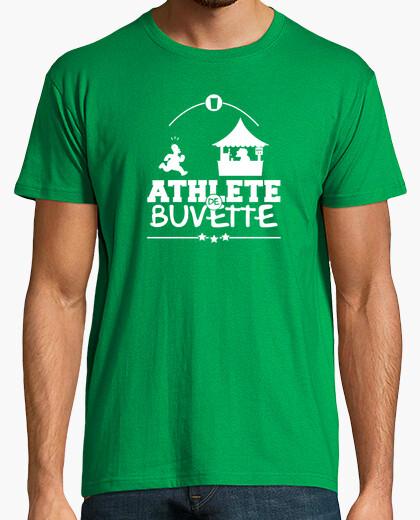 Camiseta atleta cerveza cuadrangular
