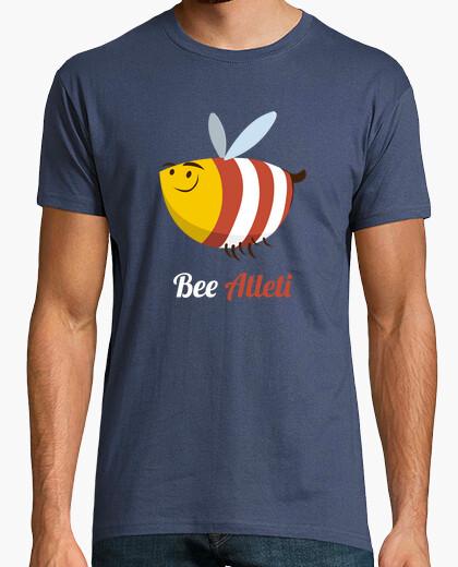 Camiseta Atleti - Bee Atleti (Hombre) Fondo Oscuro