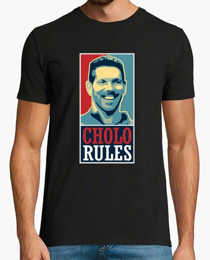 Camiseta Atleti - Cholo Rules (Hombre)