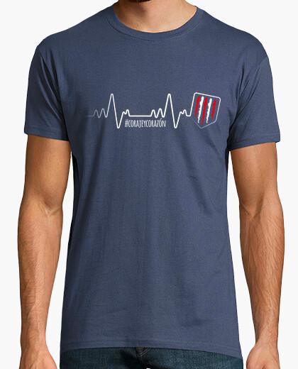 Camiseta Atleti - Latido (Hombre) Fondo Oscuro