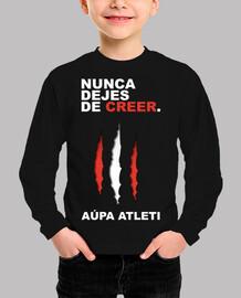 Atleti - Nunca Dejes De Creer (Niño) Fondo Oscuro