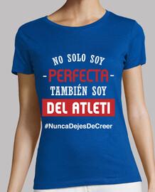 Atleti - Nunca Dejes De Creer (Perfecta) (Mujer) Fondo Azul