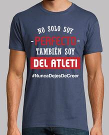Atleti - Nunca Dejes De Creer (Perfecto) (Hombre) Fondo Azul