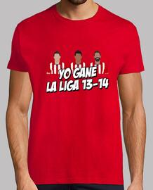 Atlético de Madrid, camiseta de campeón
