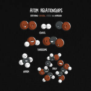 Atom relationships T-shirts