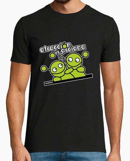 Camiseta atracción marciana g (b)