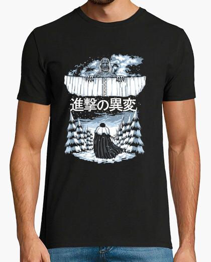 T-shirt attacco degli altri