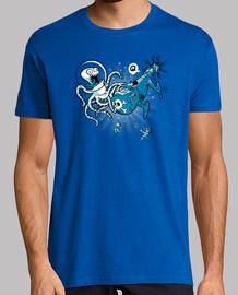 attacco del  gigante octopus dallo spazio