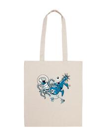 attack of gigante octopus dallo spazio