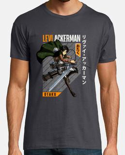 Attack On Titan Levi Ackerman Captain L