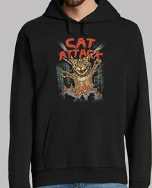 attaque de chat