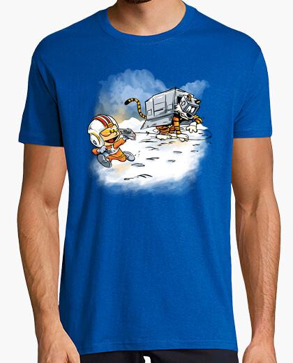 Tee-shirt attaque des déambulateurs de neige