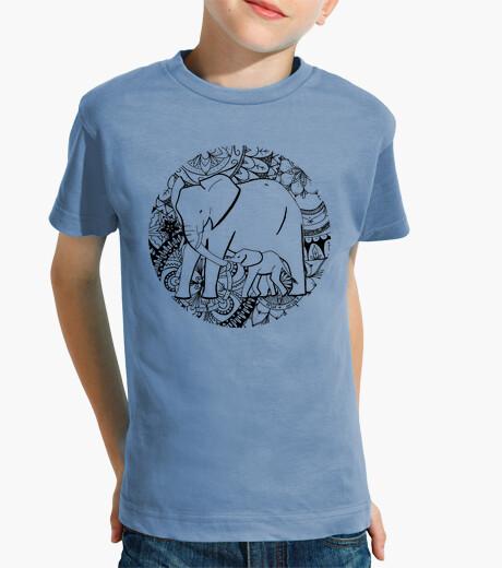 Vêtements enfant attention, garçon manches courtes bleu