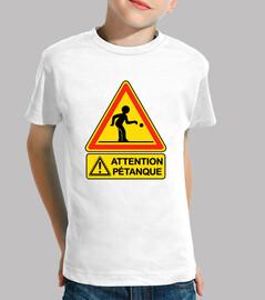 Attention pétanque