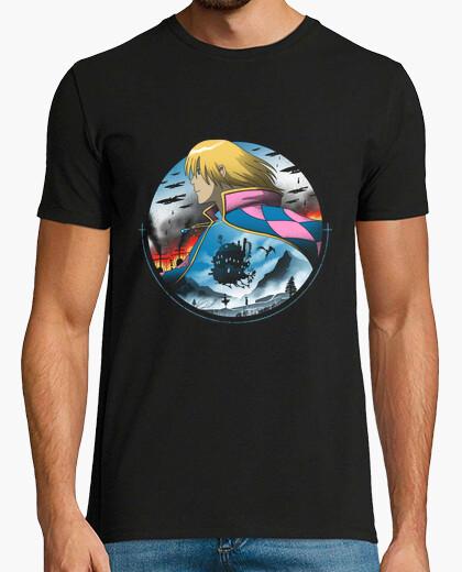 Tee-shirt au milieu de la chemise de guerre hommes