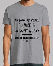 au nom du verre whisky