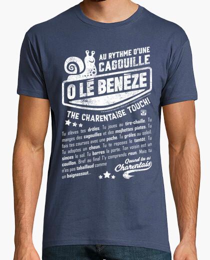 Tee-shirt Au rythme de la Cagouille Escargot
