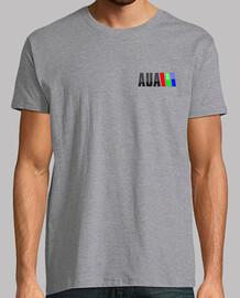 AUA - Logo en el pecho, micros trasera