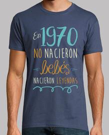 aucun bébé n'est né en 1970, des légendes sont nées, 50 ans