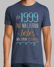 aucun bébé n'est né en 1999, des légendes sont nées, 21 ans
