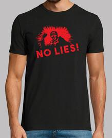 aucun mensonge - thème de manifestant