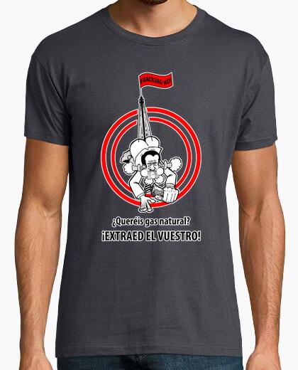 Tee-shirt aucune fracturation!