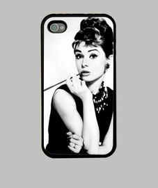 Audrey Hepburn - Funda móvil iPhone4