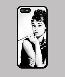 Audrey Hepburn - Funda movil iPhone5