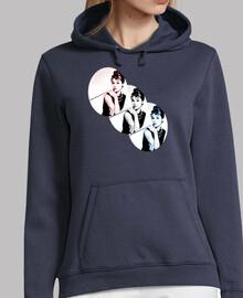 Audrey Hepburn Colors -  Sudadera chica