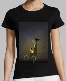 auf einem Fahrrad