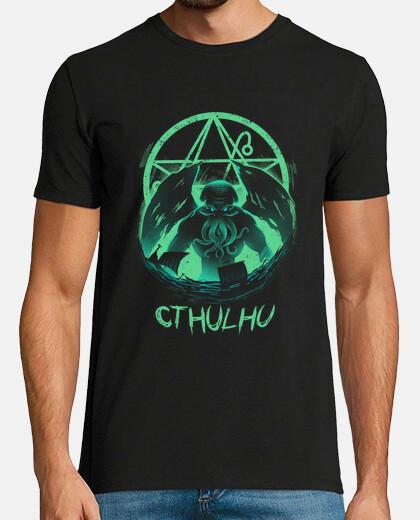aumento de la camiseta mens cthulhu