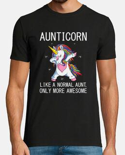 aunticorn como una tía normal solo que