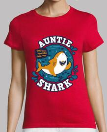 Auntie Shark trazo