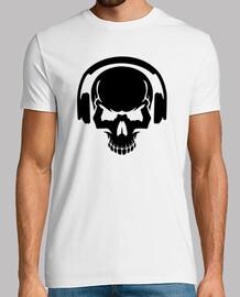 auriculares dj cráneo