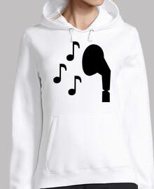 auriculares notas musica